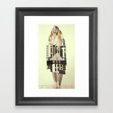 trois Framed Art Print
