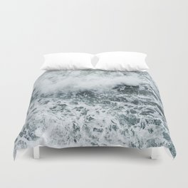 Crashing Duvet Cover