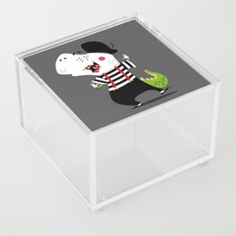 T-Rex Mime Acrylic Box