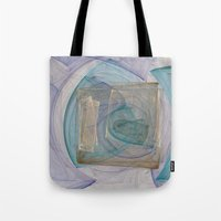 square Tote Bags featuring Square  by Christy Leigh