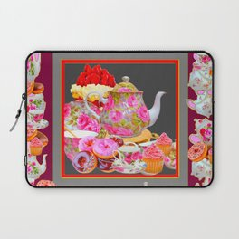 AFTERNOON TEA PARTY  & PASTRY  DESSERTS Laptop Sleeve