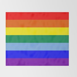 Rainbow Original Throw Blanket