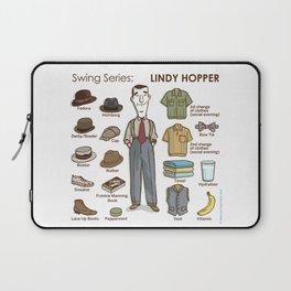 SWING SERIES: LINDY HOPPER (male) Laptop Sleeve