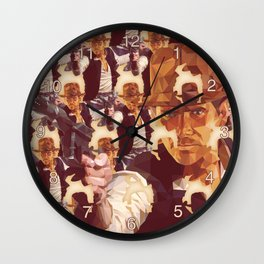 Indiana Solo DE Wall Clock