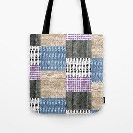 Primavera Mixed Pattern Tote Bag