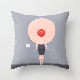 Active Spectator Throw Pillow