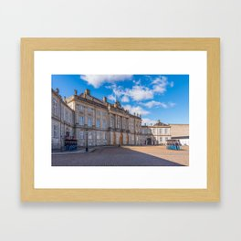 Changing the guard in Copenaghen Framed Art Print