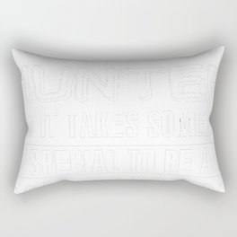 Any-Man-can-be-a-Hunter-but-it-takes-someone-special-to-be-a-Dad-of-Twins Rectangular Pillow