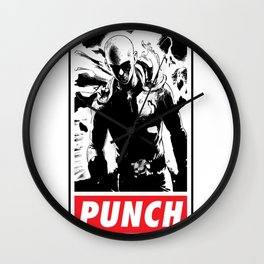 Punch Wall Clock