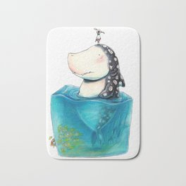 Shark Cube Bath Mat