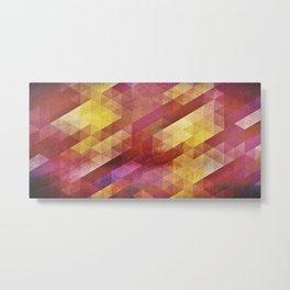 Fall pattern 2 Metal Print