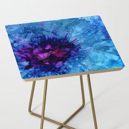 Amethyst Freeze Side Table