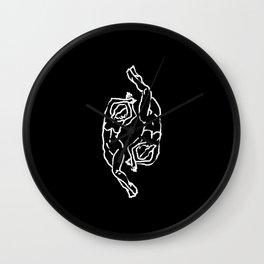 Partido En Cuatro Wall Clock