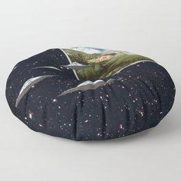 Ctrl+Alt+Del // Returning UFOs Floor Pillow