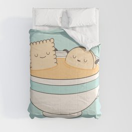 loosen up a little! Comforters