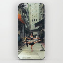 Dancers Parallel Jump iPhone Skin