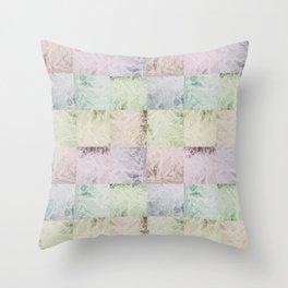 Water Splash Pattern Throw Pillow