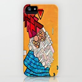 Abstract Study of Gnome (Pt.3) iPhone Case