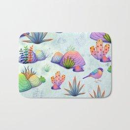 Kaleidoscopic Garden Bath Mat