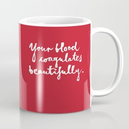Blood-red Coffee Mug