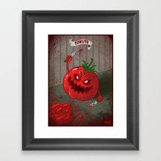Tomato - Food series Framed Art Print