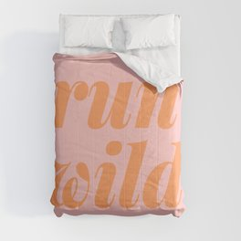 Run Wild Comforters