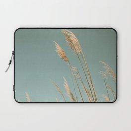 Beach Grass Blues Laptop Sleeve