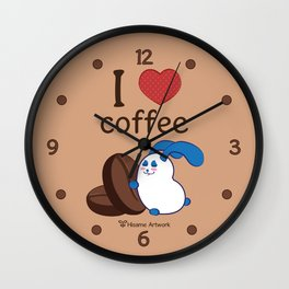 Ernest | Love coffe Wall Clock