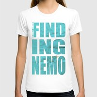 nemo T-shirts featuring Finding Nemo by Garrett McDonald