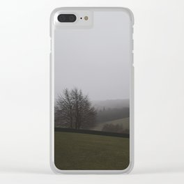 Blurring vision Clear iPhone Case