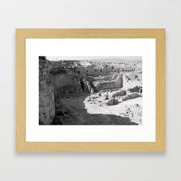 Herodium Framed Art Print