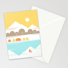 Burly Men at Sea Village Stationery Cards