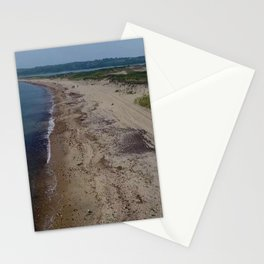 Hidden Beaches of the Ocean State, Rhode Island Stationery Cards