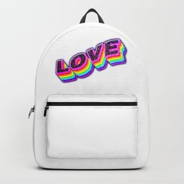 Gay love,  Lgbt lovely clothing | Love is love Backpack