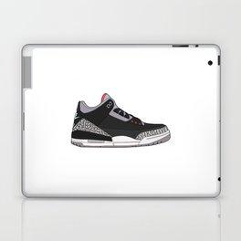 Jordan 3 - Black Cement Laptop & iPad Skin