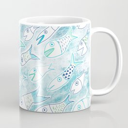 The Multiplication of the Fishes Coffee Mug