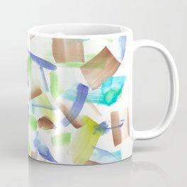 180719 Koh-I-Noor Watercolour Abstract 8| Watercolor Brush Strokes Coffee Mug