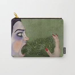 Don't Put Words In My Mouth Carry-All Pouch