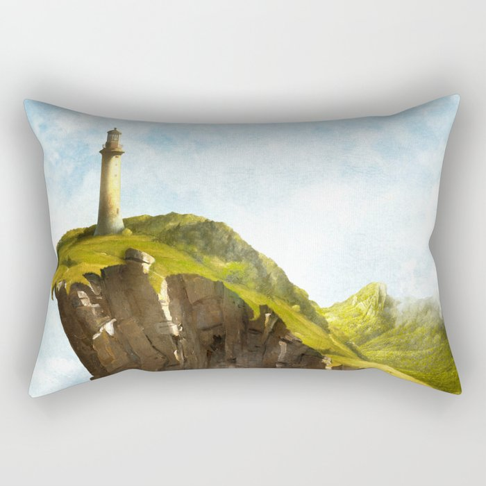 At the End of the Earth Rectangular Pillow