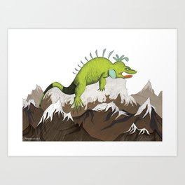 Big Mo – Mountain Art Print