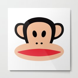 Cute Monkey (Julius Monkey) Metal Print