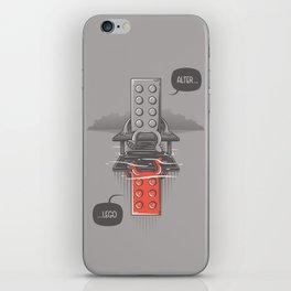 Alter LEGO iPhone Skin