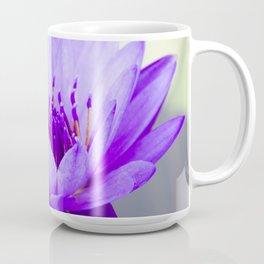 Blue Lotus In Bloom Coffee Mug