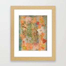 Tiki Flower Framed Art Print