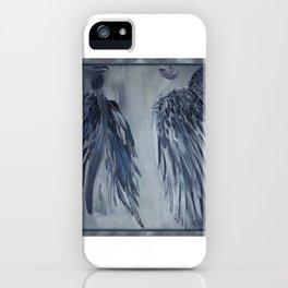 Soul Mates in Blue iPhone Case