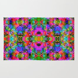 Abstract Kundalini Awakening Rug