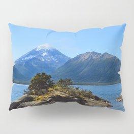 Lanin volcano. Patagonia Pillow Sham