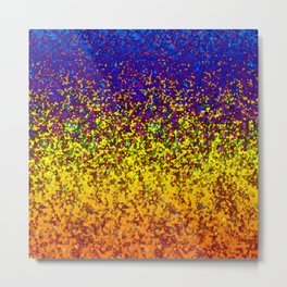 Glitter Dust Background G173 Metal Print