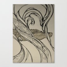 Crocodylus Canvas Print