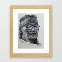 At Standing Rock 5 Framed Art Print